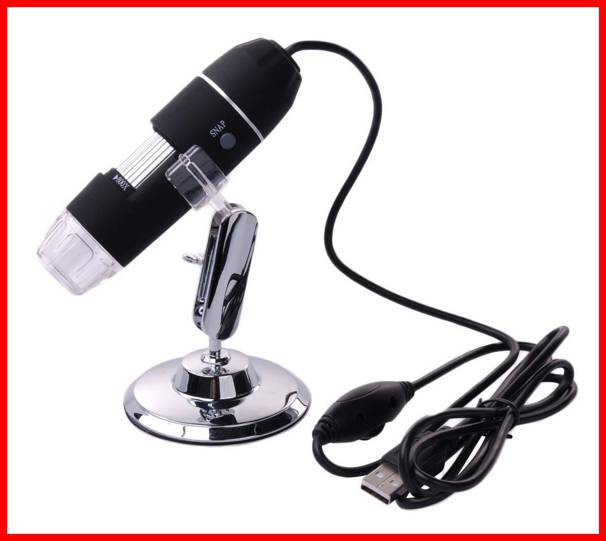 USB-Digital-Mikroskop Xcsource (1,3 MP, 100-200x)