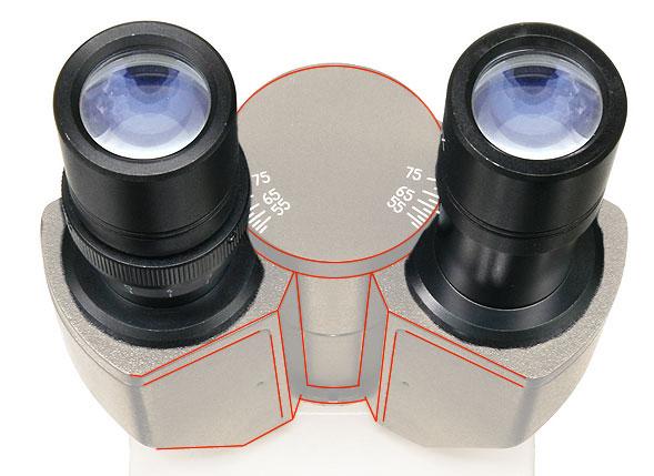 Carl zeiss jena mikroskope foto winkel tubus mit okular kamera